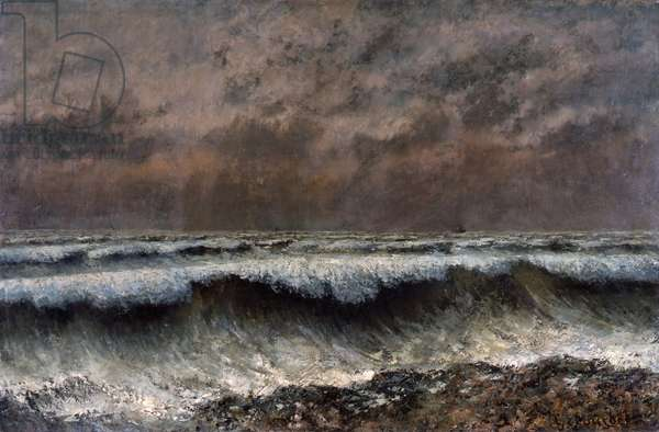 The Wave, 1870 (oil on canvas)