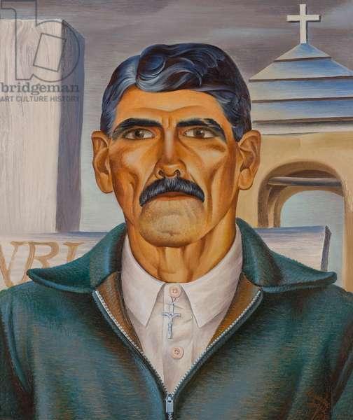 Pedro the Zealot, 1933 (oil on untempered Masonite)