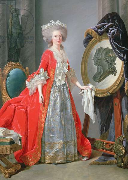 Madame Adelaide, c.1787 (oil on canvas)