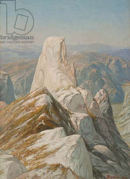 Half Dome, Yosemite, 1872 (gouache on paper mounted on panel)