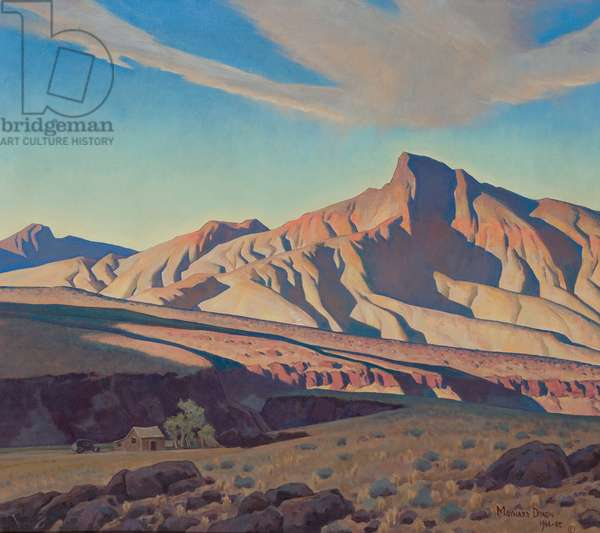 Home of the Desert Rat, 1944-45 (oil on canvas)