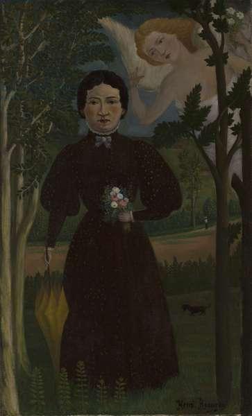 La muse du poete Guillaume Apollinaire (The Muse of the poet Guillaume Apollinaire) 1909 (oil on canvas)