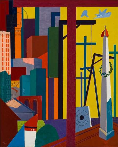 Solitudes, 1946 (oil on canvas)