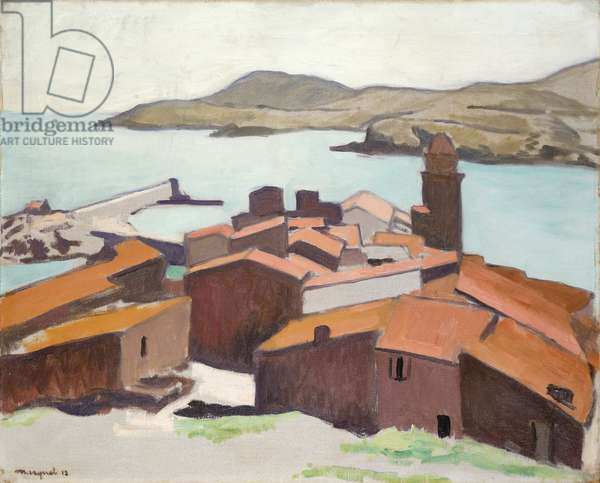 View of Collioure, 1912 (oil on canvas)