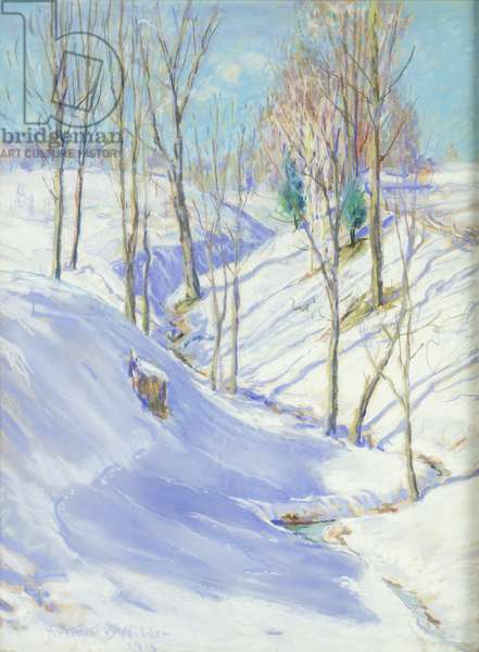 The Ravine, 1914 (pastel on paper)