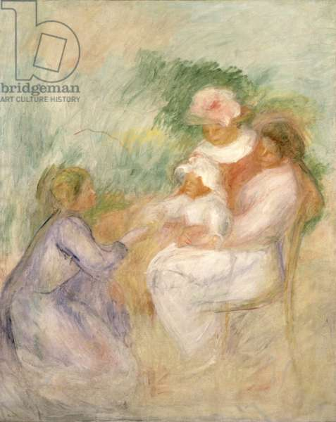 Women and Child, c.1896 (oil on canvas)