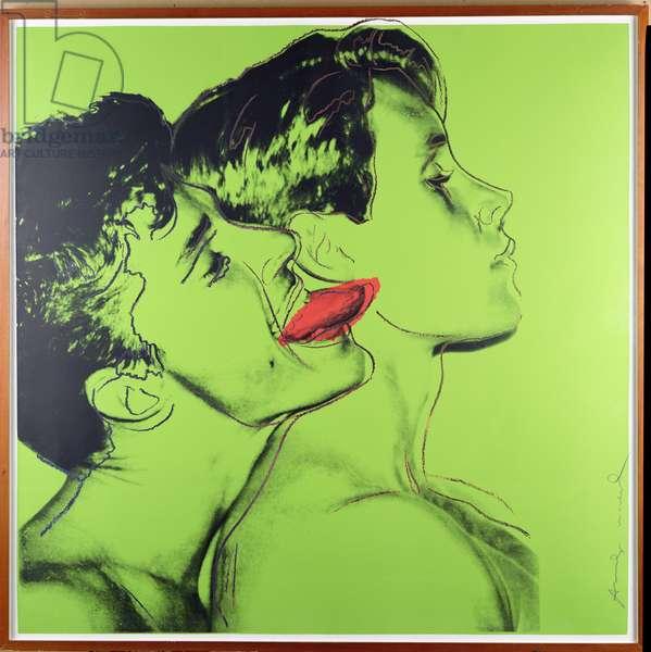 Quarrel, 1982 (screenprint on paper)