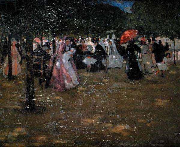 Luxembourg Gardens, 1901 (oil on canvas)