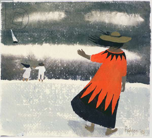 On the Shore, 2005 (w/c on paper)