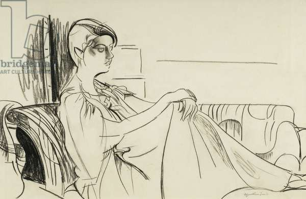 Froanna, 1935 (charcoal)