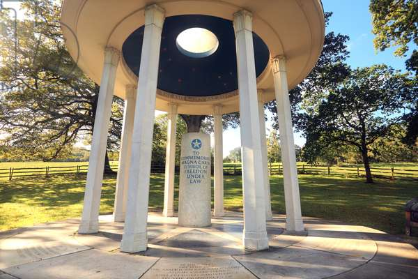Magna Carta Monument at Runnymede, Surrey, England (photo)