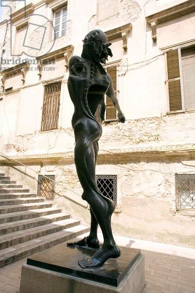 Salvador Dali Statue, Figueres, Spain (sculpture)