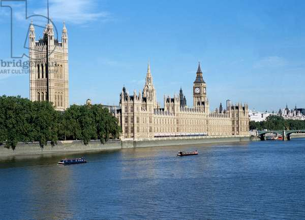 Houses of Parliament and Big Ben, London (photo)