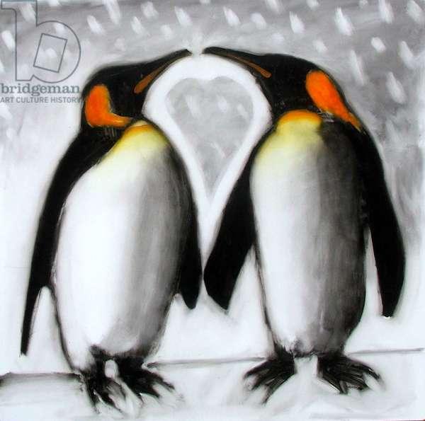 Love (acrylic on board)