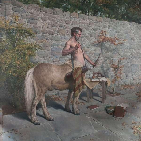 Chiron the Centaur, 2015 (oil on canvas)
