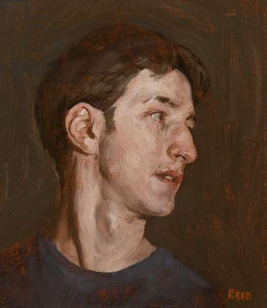 Self Portrait, 2002 (oil on board)