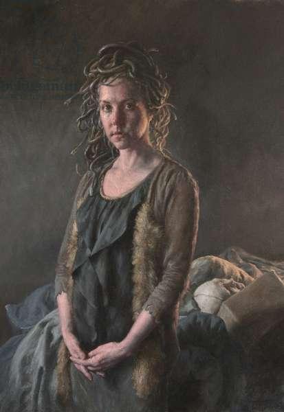 Medusa, 2014 (oil on canvas)