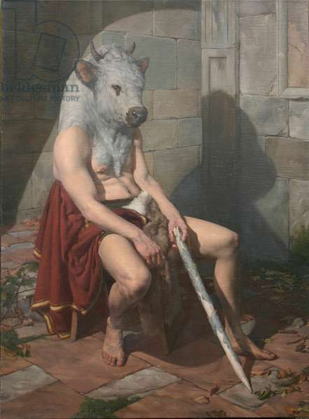 Minotaur, 2006 (oil on canvas)
