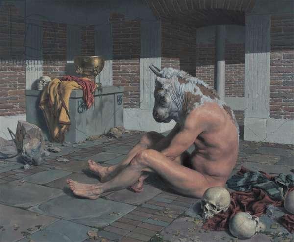 Minotaur, 2019 (oil on canvas)