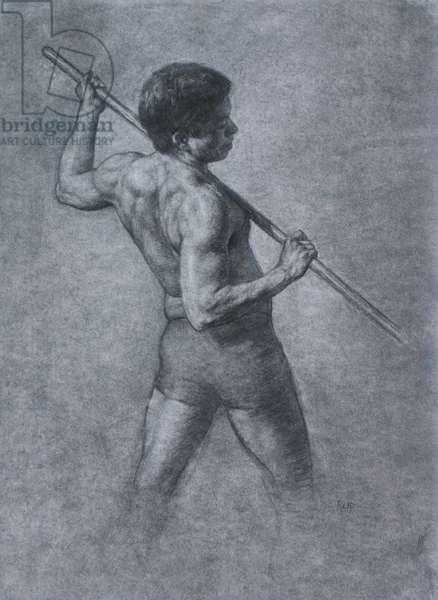 Figure Study, 2005 (charcoal on paper)