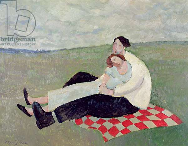 Lovers in a Landscape, 2007 (oil)