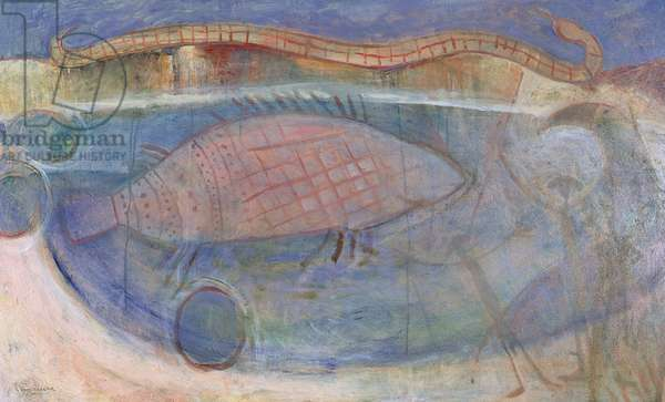 Walunguru (Kintore) 2000 (oil)