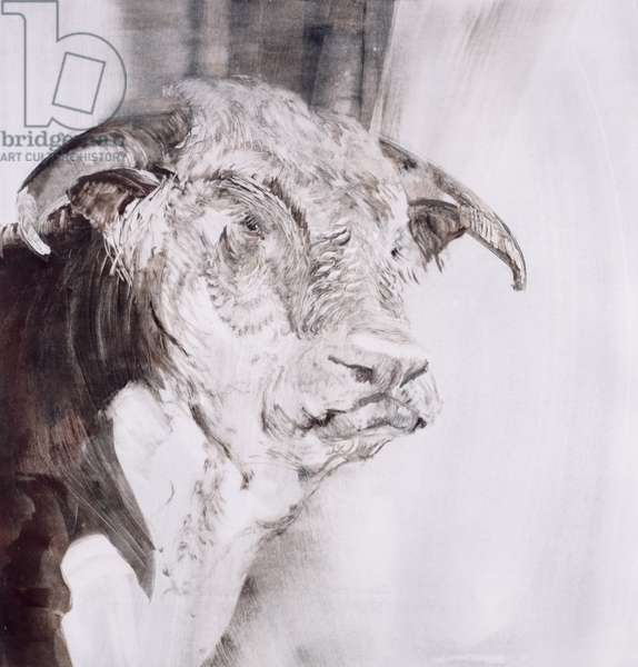 The Bull, 1995 (monoprint)
