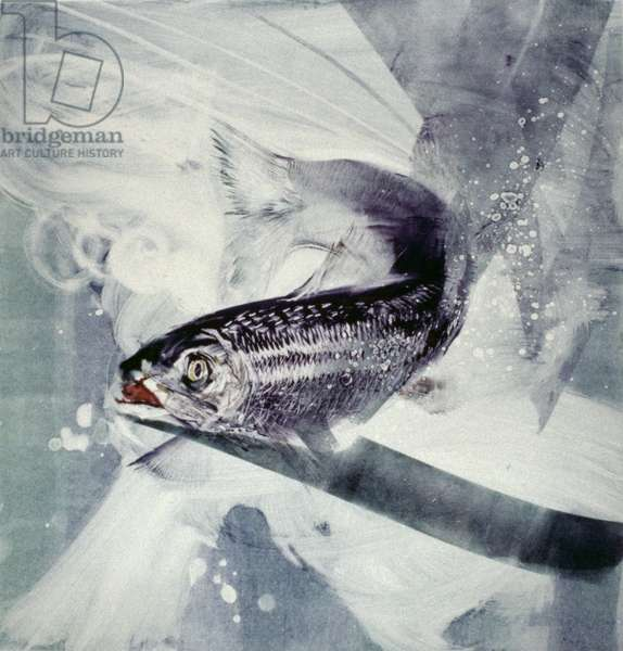 Caught!, 2002 (monoprint)