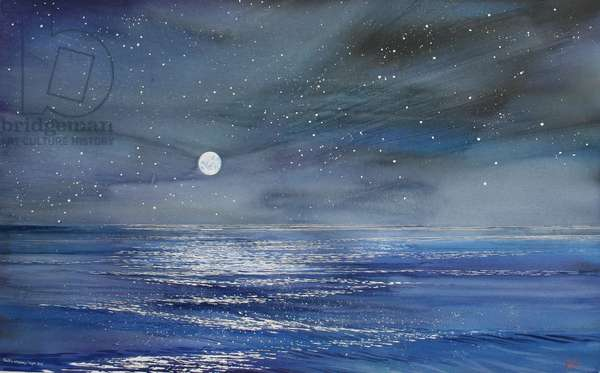 Night Sky, 2004 (w/c on paper)