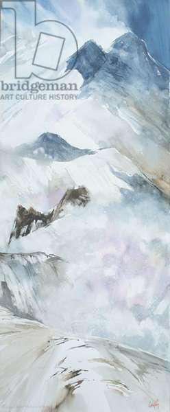Avalanche Valley, from the Vertigo Series, 2004 (w/c on paper)
