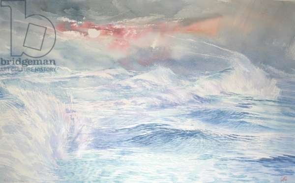 Pacific Storm Rising, 2004 (w/c on paper)