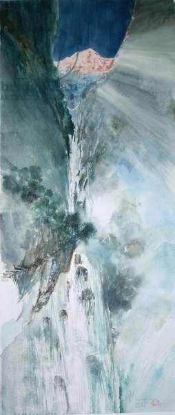 Waterfall, from the Vertigo Series, 2004 (w/c on paper)