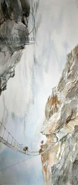 Steps, from the Vertigo Series, 2004 (w/c on paper)