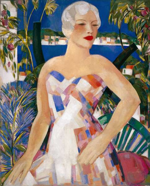 Blonde with Checked Sundress, 1958 (oil on canvas)