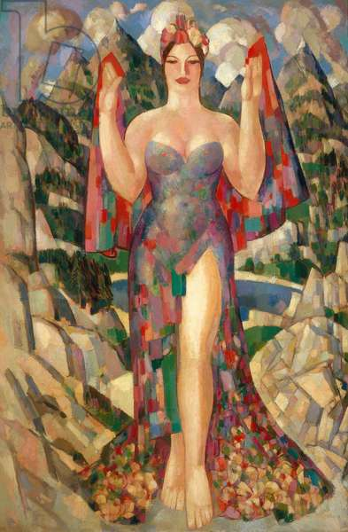 Danu, Mother of the Gods, 1952 (oil on canvas)