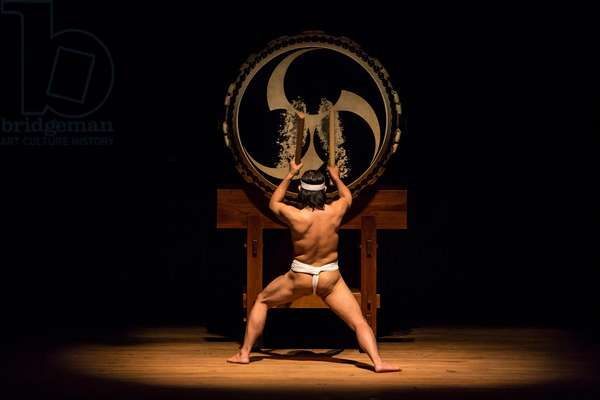 Kodo Drummers Play First Concert of UK Tour 2014, Lighthouse, Poole, Dorset. 15th February 2014