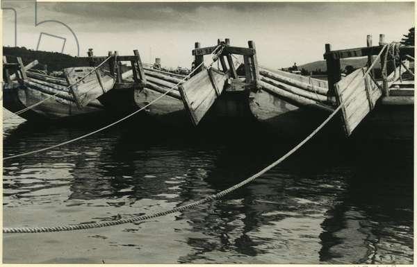 Kiso River, Japan, 1937 (bromide print)