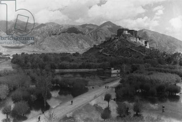The Potala Palace from the south west, Lhasa, Tibet, 17th-18th September 1936 (gelatin silver print)