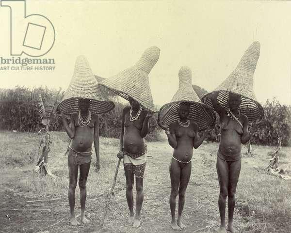 Luo Women Going Fishing, Kisumu, Kenya, 1902 (silver gelatin print)