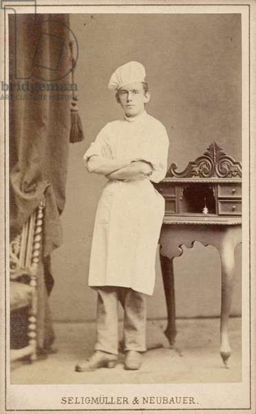Portrait of a Baker, before 1879 (albumen print)