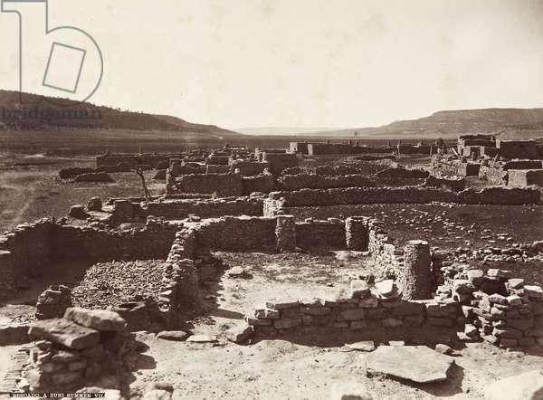 Pescado Pueblo, 1879 (albumen print)