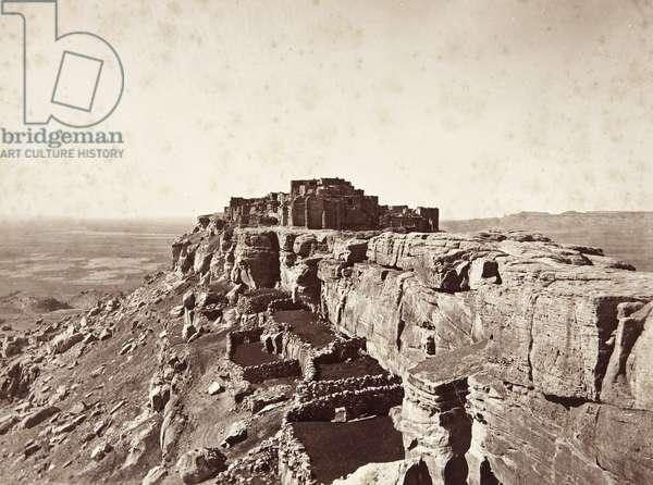 Walpi Pueblo, First Mesa, c.1879-81 (albumen print)