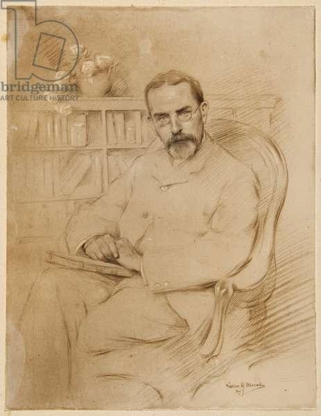 Sir James George, 1907 (pencil on paper)