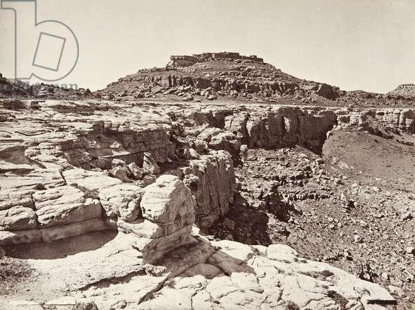 Shipaulovi Pueblo, 1879 or 1881 (albumen print)