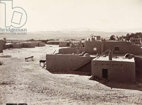 San Juan Pueblo, 1880 (albumen print)
