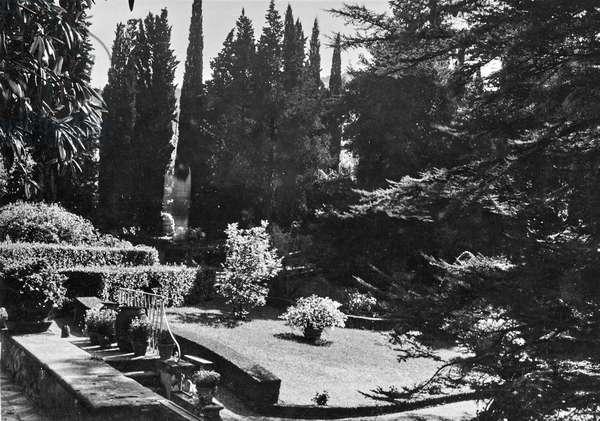 Exterior of the Villa Il Buon Riposo in San Domenico a Fiesole, San Domenico, Fiesole, Italy, 1920-1930
