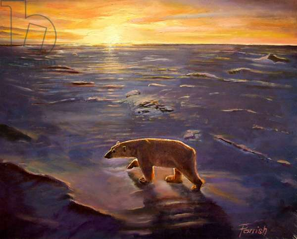 In the Wilderness, 2008 (oil on canvas)