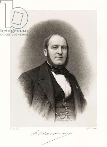 Georges Eugène Haussmann, 1865-66 (litho)