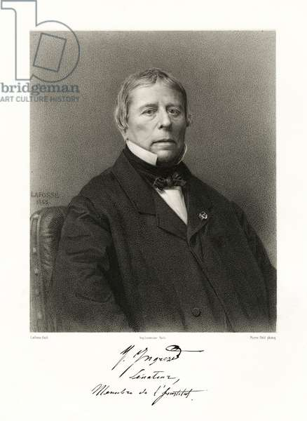 Jean Auguste Dominique Ingres (litho)