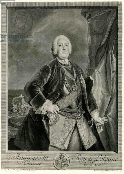Augustus III (1696-1763) King of Poland (phototype)